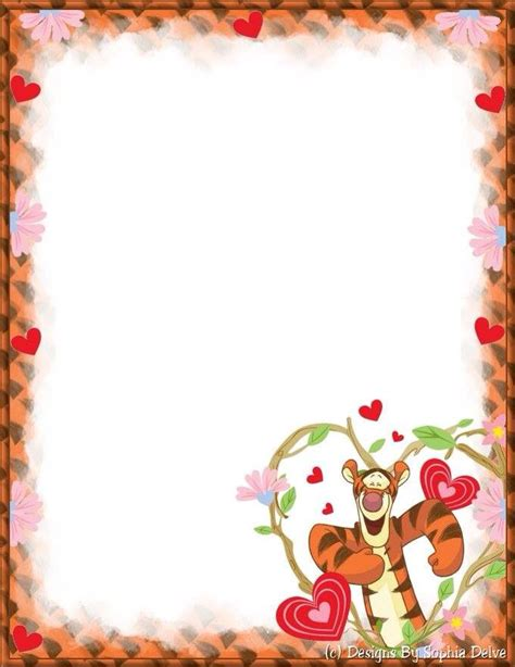 winnie the pooh writing paper pin by เพ อน ตลอดกาล on frame vertical