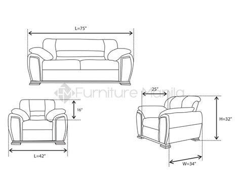 measurements of a sofa standard dimensions sofa set conceptstructuresllc com