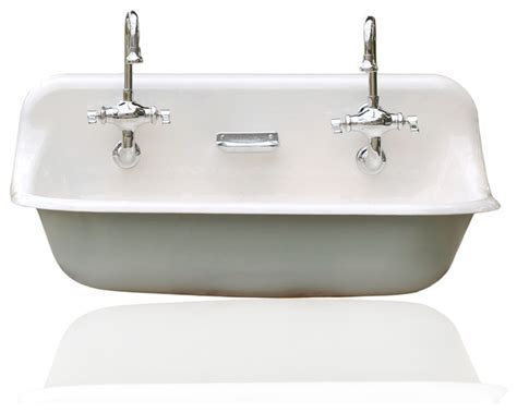 kohler porcelain kitchen sink high back 36 quot kohler farm sink cast iron porcelain trough