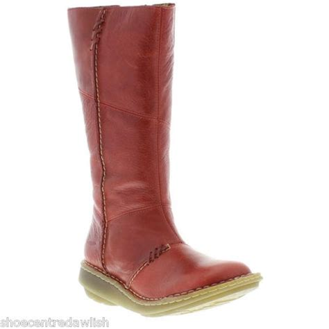 womens dr martens authentic wedge mid calf boot in