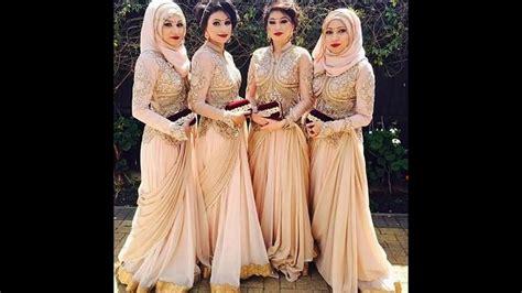 Gamis Pesta Nikahan model baju muslim nikahan terbaru