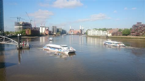 thames clipper st george wharf the past present and future of passenger transport on the