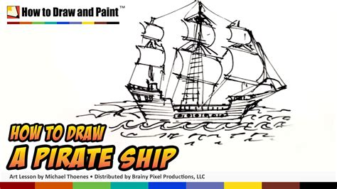 how to draw a pirate ship doodle how to draw a pirate ship doodle mat