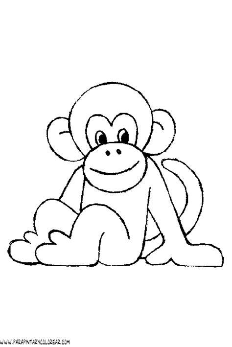 dibujos para colorear de monos dibujos de monos para colorear pictures to pin on