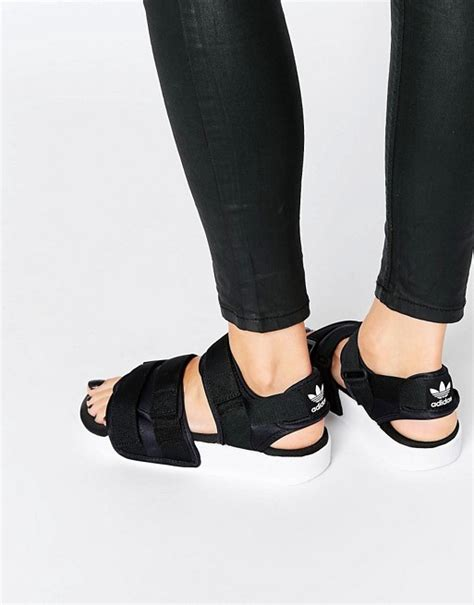 adidas adidas originals adilette chunky sandal flat sandals