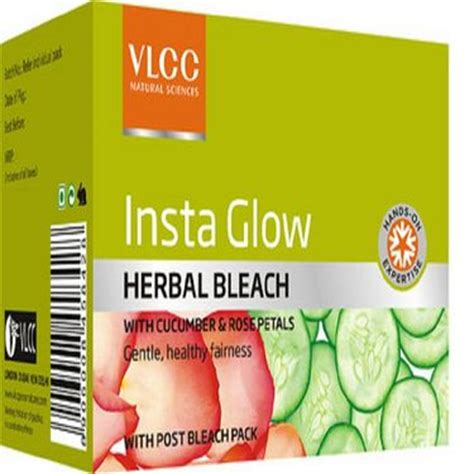 Bleaching Glowskin Herbal 1 buy vlcc insta glow herbal 342 gm at best price in india on naaptol