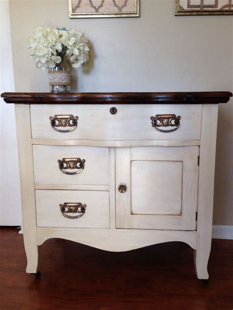 refinished antique oak wash stand commode dry sink www