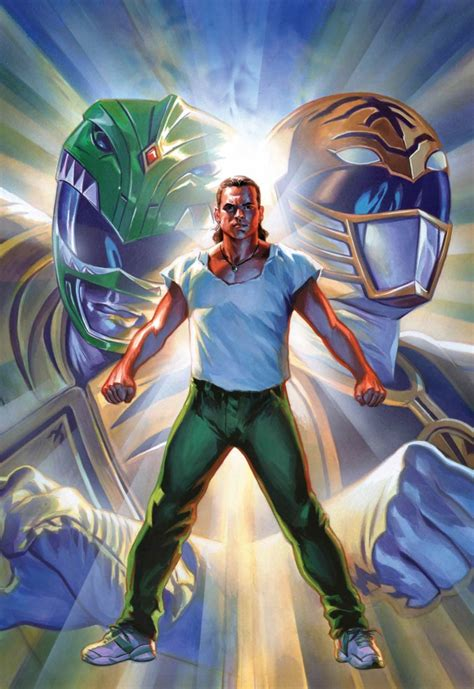 comiclist previews mighty morphin power rangers poster