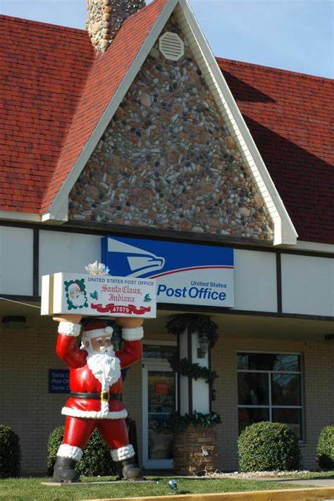 Post Office Santa by Post Office In Santa Claus Ind