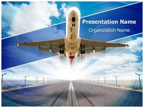 109 Best Images About Transport And Automobile Powerpoint Templates On Pinterest Airport Powerpoint Template