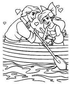 The Little Mermaid Coloring Pages Free To Print L L
