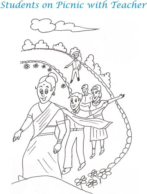 Teacher S Day Coloring Pages Coloring Kids Teachers Day Coloring Pages