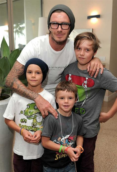 Ralph Exploits Beckham Children by Romeo And David Beckham Shopping In La 3am Mirror
