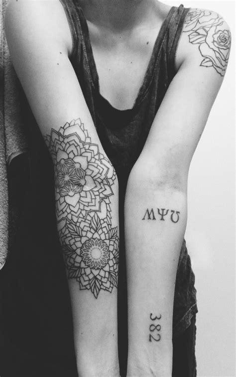 mandala tattoo inner elbow 80 bright sunflower tattoos designs meanings for
