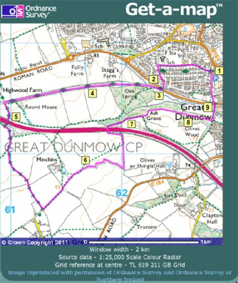 Great Walk Sections by Walk Great Dunmow Uttlesford Wildlife