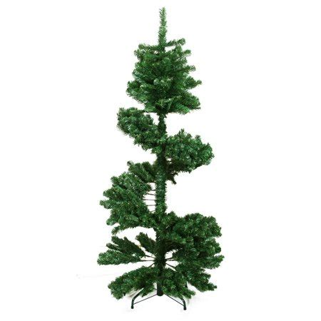 4 ft spiral christmas trees at walmart 7 spiral pine artificial tree unlit walmart