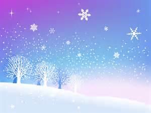 Beautiful snow scene vector vectorfans