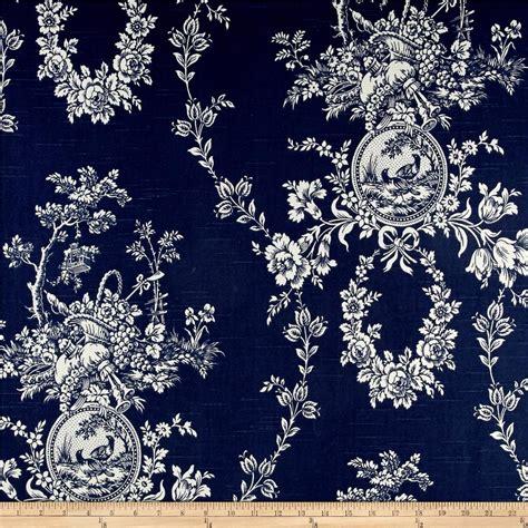 waverly indigo curtains waverly country house toile indigo blue discount