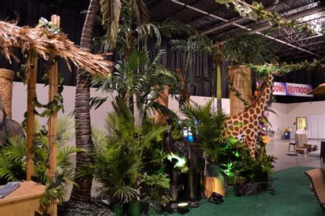 safari themed events tropical and jungle theme event rentals display group