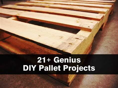 diy projects with wooden pallets 21 genius diy pallet projects