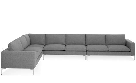blu dot standard sofa new standard large sectional sofa hivemodern com