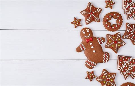 christmas wallpaper gingerbread wallpaper xmas new year cakes merry gingerbread sweet