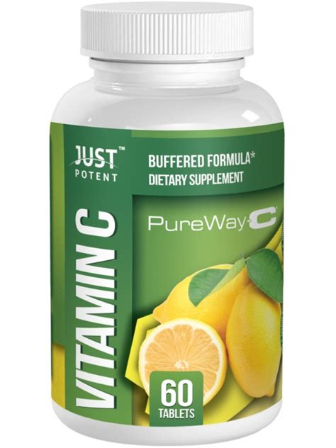 supplement absorption vitamin c pureway c supplement by just potent