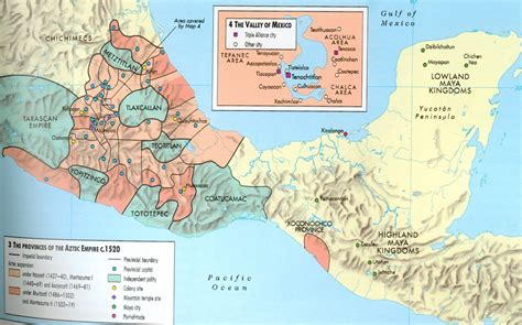 aztec empire map the aztec empire worlds apart the americas and oceania