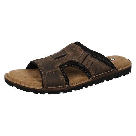 mens memory foam sandals mens skechers with memory foam sandals golson ebay