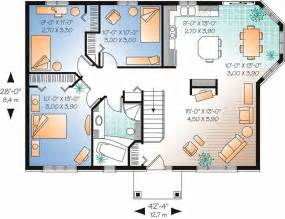 House Plans 1500 Sq Ft by Ranch Contemporary Home With 3 Bedrooms 1104 Sq Ft