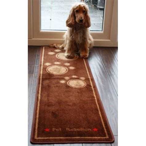 rugs for dogs pet rebellion cat runner absorbent non slip washable door mat carpet rug ebay