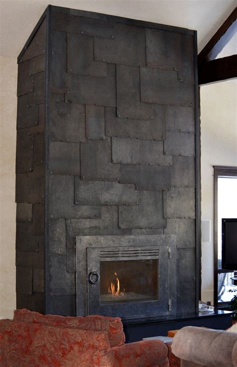 Clad Fireplace 17 best images about blackened steel on