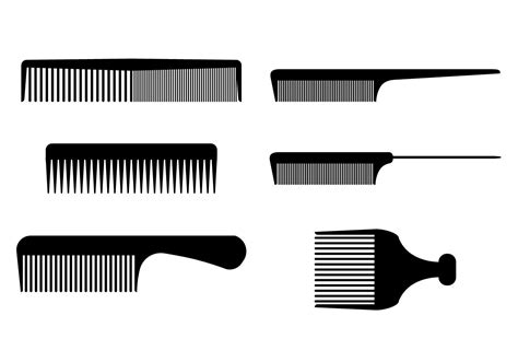 comb free vector art 9071 free downloads