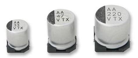 220 nanofarad capacitor code 35txv220m10x10 5 rubycon smd aluminium electrolytic capacitor radial can smd 220 181 f 35 v