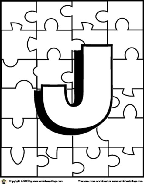 cute coloring pages letter j coloring pages