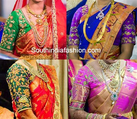 top design latest blouse designs for pattu sarees www pixshark com