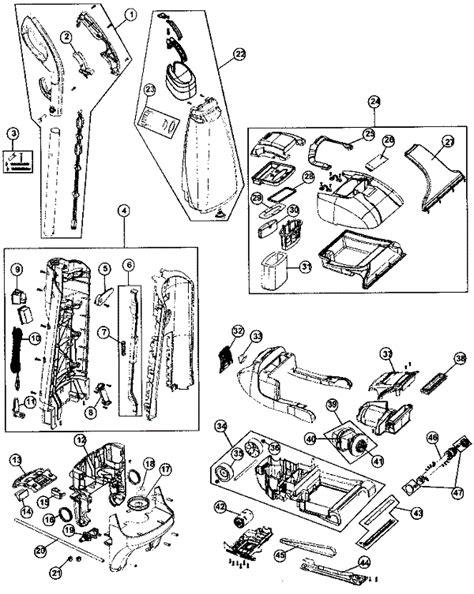 hoover steamvac parts diagram hoover fh50030 steamvac carpet cleaner parts