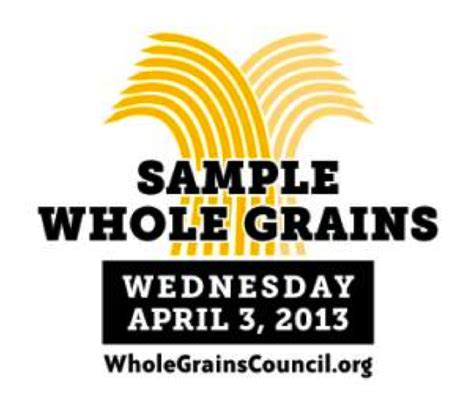 whole grains day whole grain sling day nutritioulicious