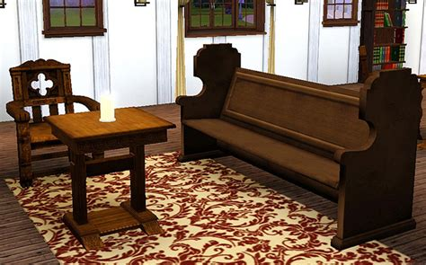 medieval sofa mod the sims medieval living room set sims 2 conversion