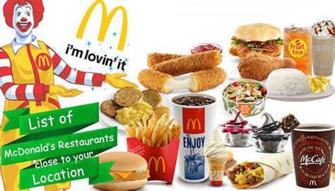 Closets Mcdonalds by Mcdonald S Restaurants Near Me Order Delivery Option