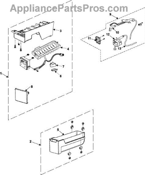 samsung refrigerator maker parts diagram samsung refrigerator parts diagram rs267lash samsung get
