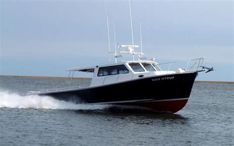 charter boats north east join capt butch cornelius aboard the carol ann ii for a