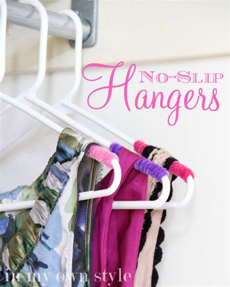 boat shoes keep slipping off clothes closet organizing no slip hangers in my own style