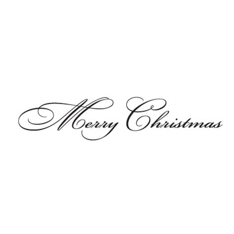 merry christmas script wall quotes decal wallquotescom