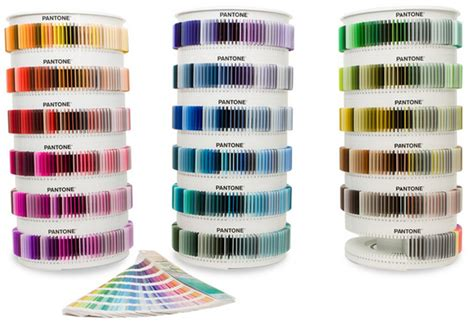 pantone color chips pantone plastic standard a carousel of color munsell