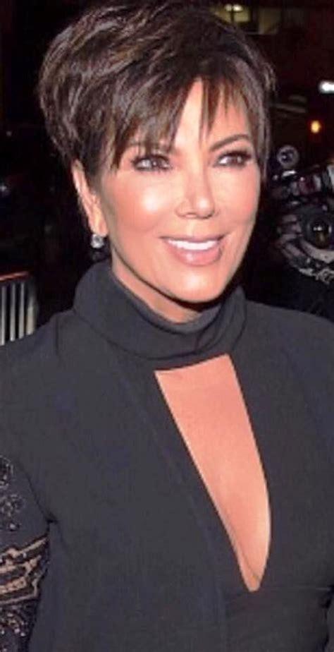 chris kardashians haircut kris jenner pinteres