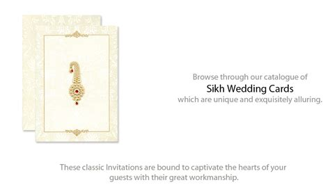 Sikh Wedding Checklist Uk by Sikh Wedding Cards Sikh Wedding Invitations Punjabi