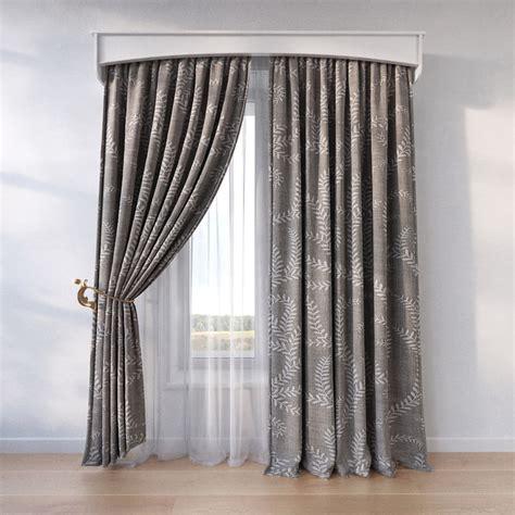 window curtain models 3d window curtain