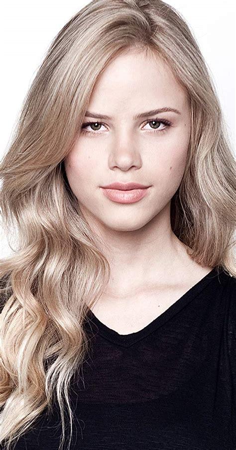 hot blonde actresses imdb halston sage imdb