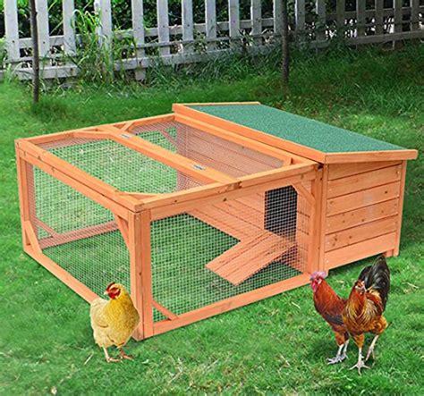 gabbia per galline pawhut grande pollaio gabbia per galline in legno di abete